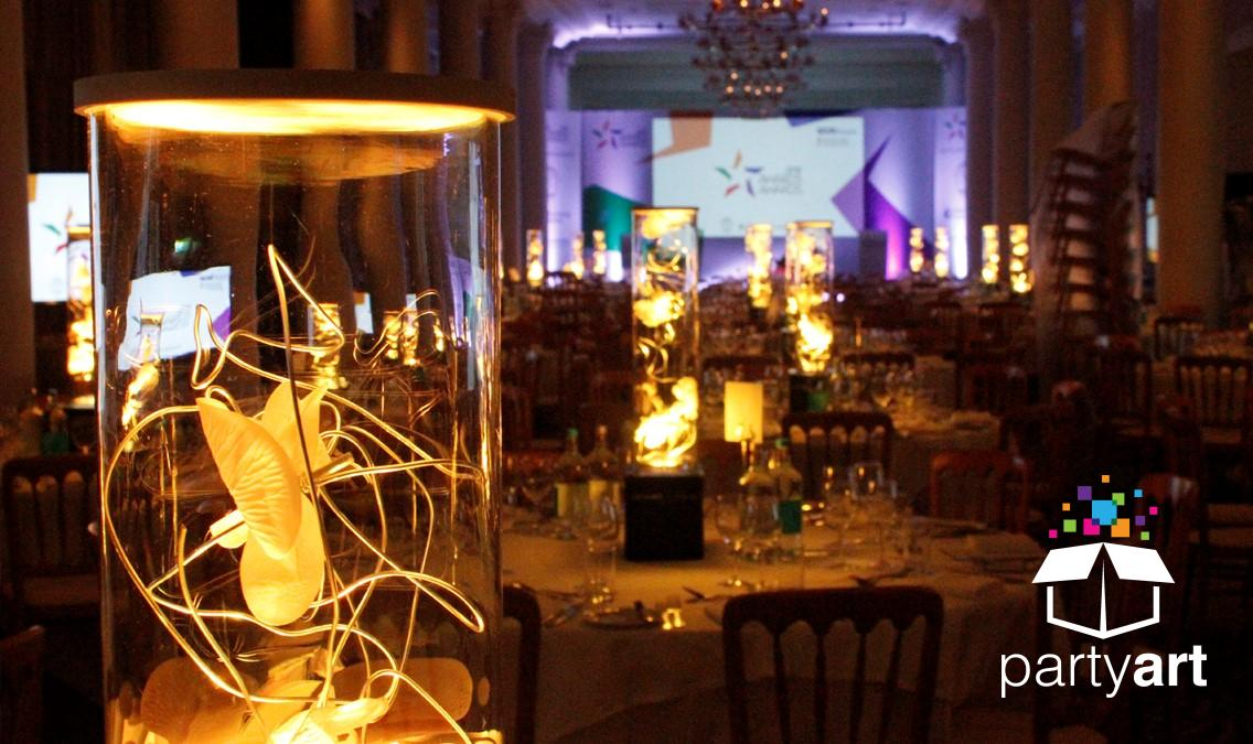 loral led table centres