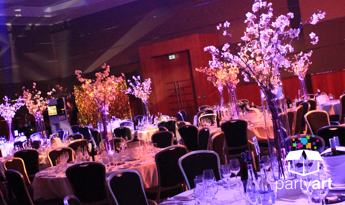 floral centrepieces hire flower decor