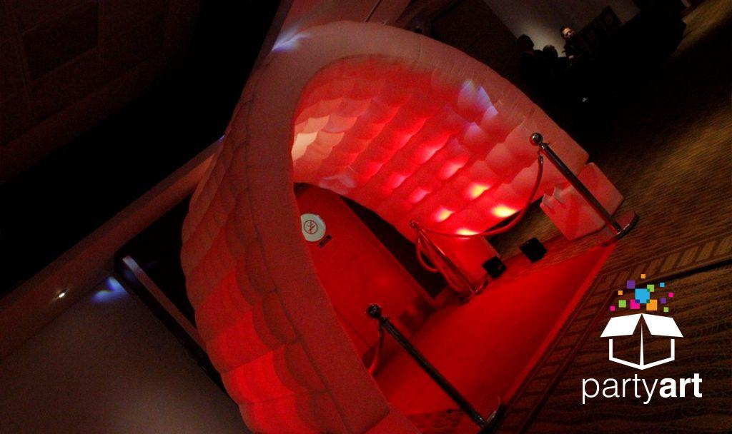 inflatable led event decorations hire