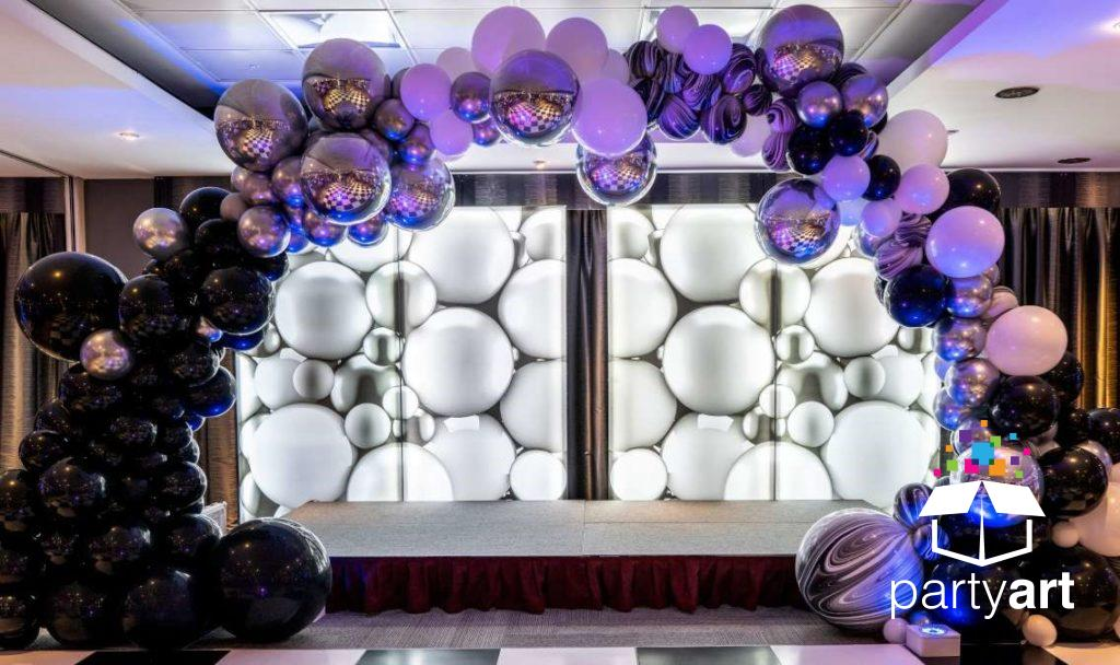balloon arch hire parties