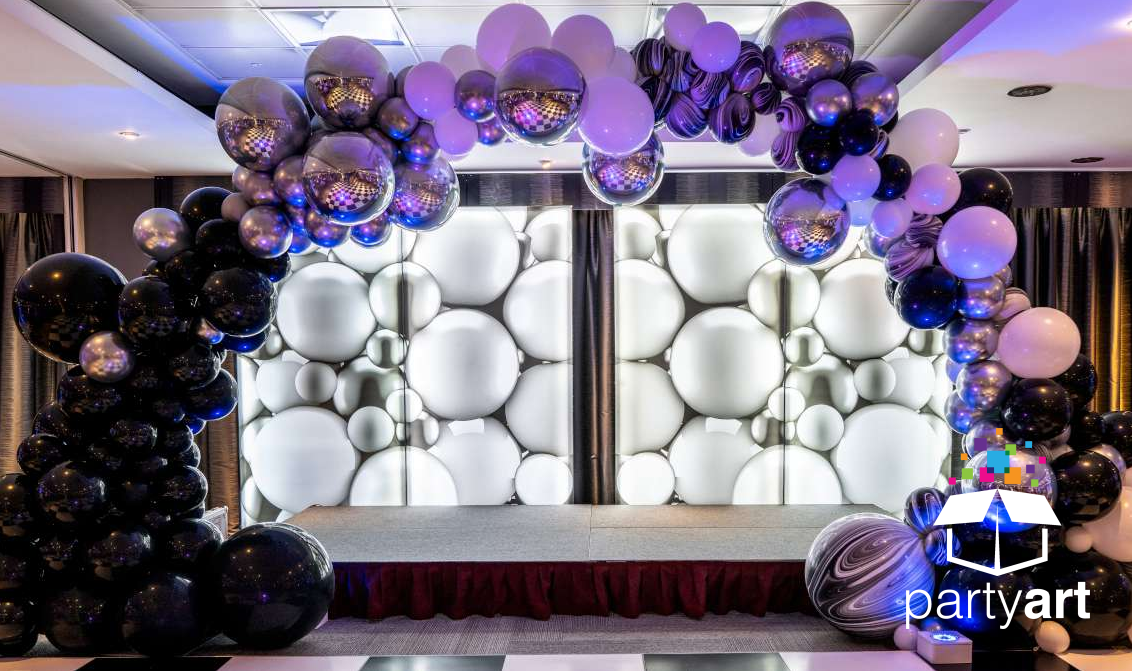 Balloon Arch for the Stage