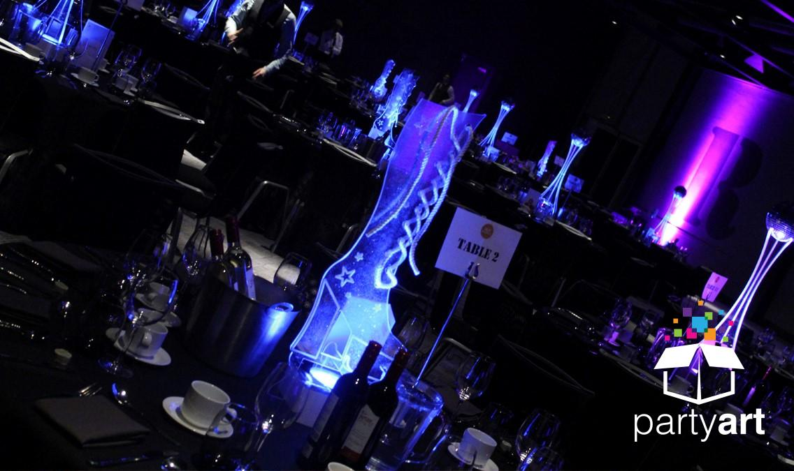 dancing queen led centrepieces