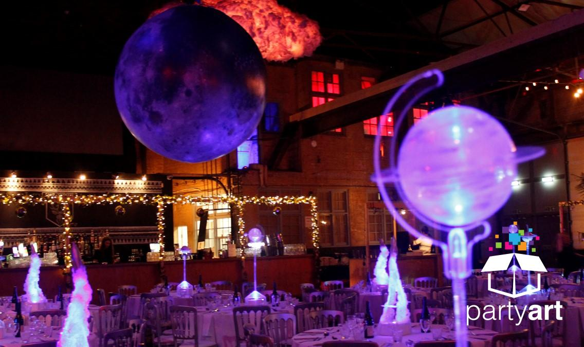 inflatable moon prop hire