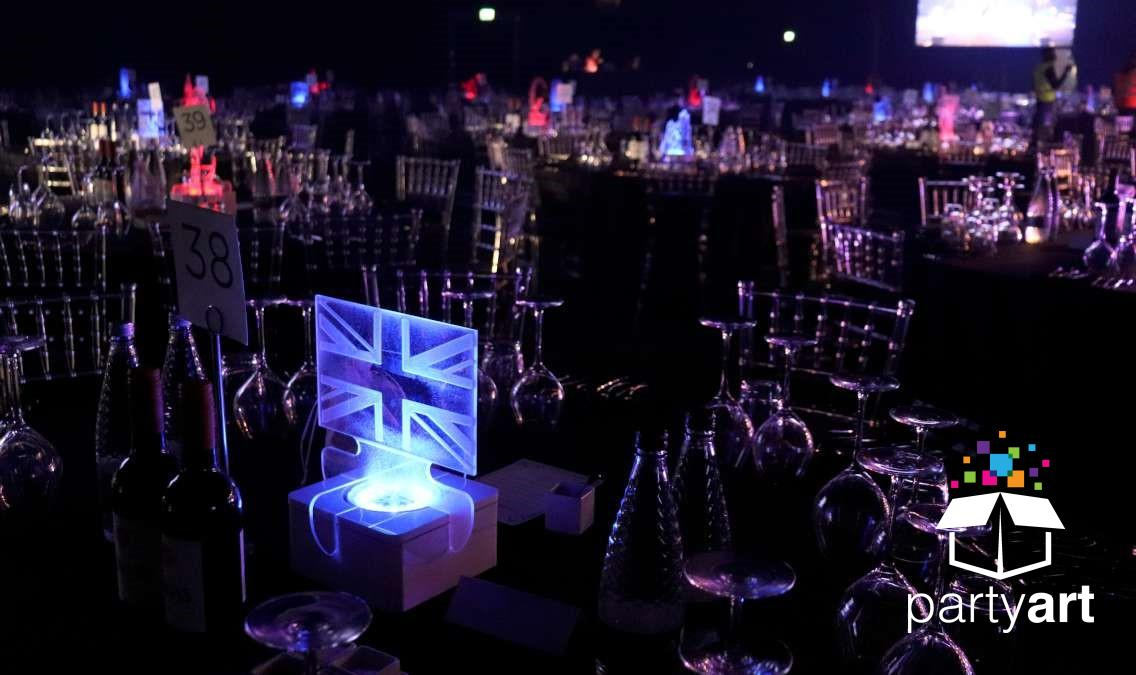 british led centrepieces