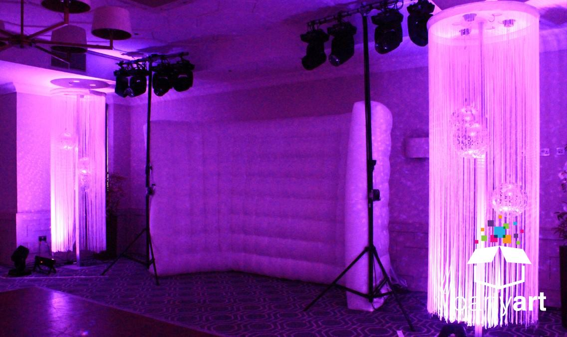 disco ball event prop hire